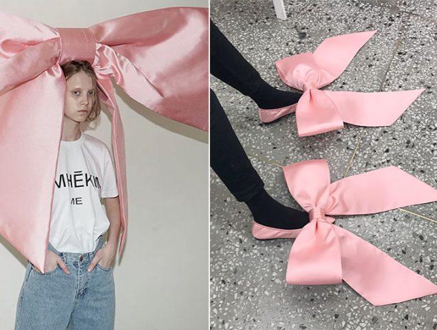 El 'boom' de los lazos rosas gigantes: de la americana de Zara a la diadema de 1800 euros