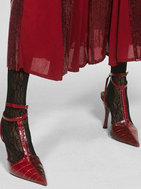 Los zapatos de Marta Ortega en su encuentro con Anna Wintour son de Zara (y cuestan menos de 90 euros)