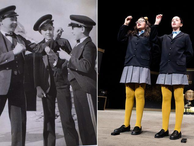 El uniforme de los niños de la Lotería de Navidad no es el del colegio de San Ildefonso: ¿de dónde viene?