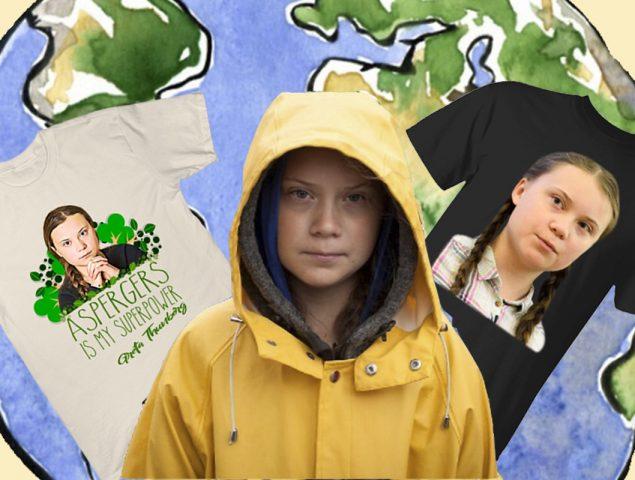 El timo de las camisetas 'activistas' de Greta Thunberg que contaminan el planeta