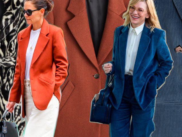 De Cate Blanchett a Katie Holmes: ¿por qué las grandes estrellas de Hollywood no paran de vestir de Mango?