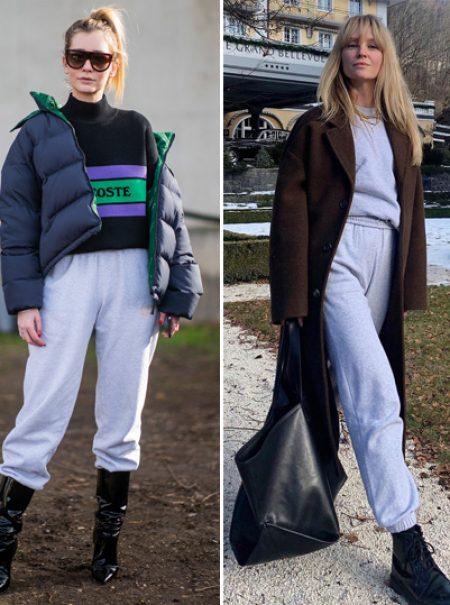 Cómo el pantalón de chándal gris de estar en casa se convirtió en el éxito de la temporada