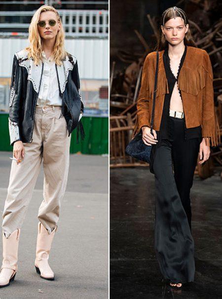 Al rescate de la chaqueta de flecos: el regreso definitivo del 'look cowboy'