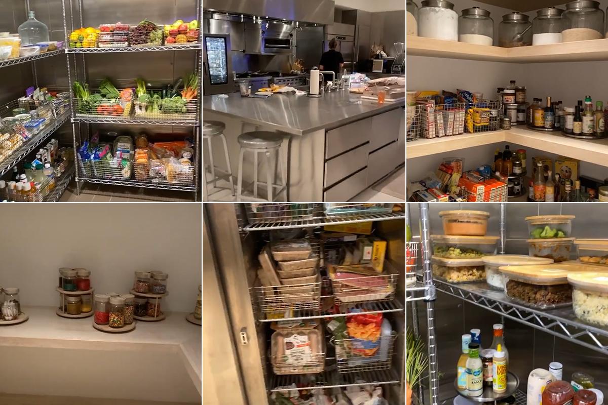 El frigorífico de Kim Kardashian