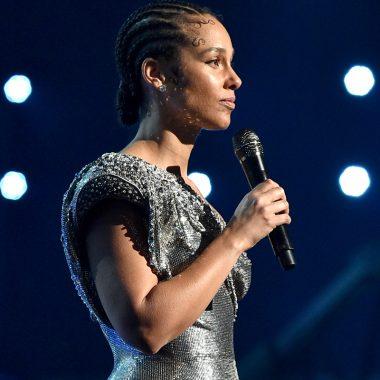 Alicia Keys en los Grammy