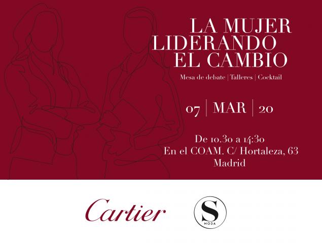 S Moda y Cartier presentan 'La mujer liderando el cambio'