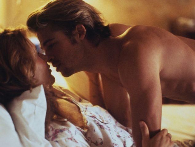 El secreto de la escena de sexo que catapultó a Brad Pitt a la fama