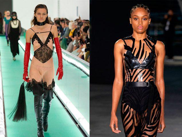 Sexy no es sexualizada: la moda propone escotes, transparencias y vestidos lenceros (siempre bajo la mirada de la mujer)