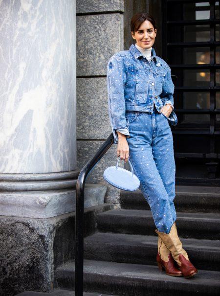 Cinco formas de vestirse de vaquera (según el 'street style' de Milán)