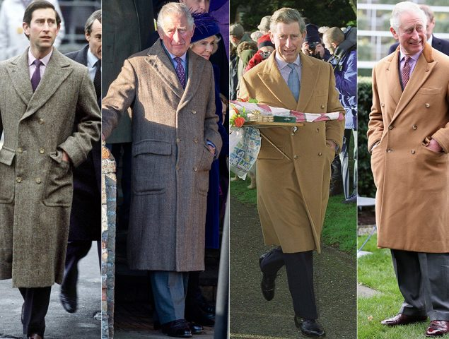 El curioso caso de los dos únicos abrigos que Carlos de Inglaterra viste desde 1985