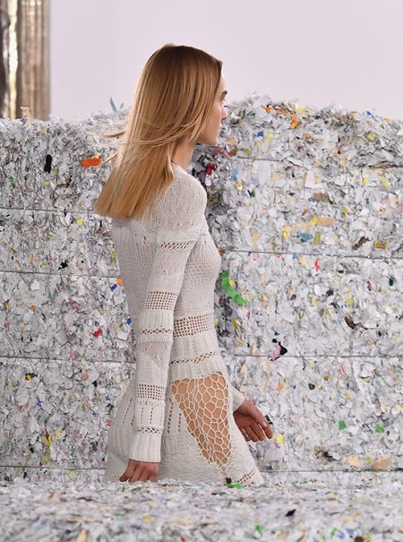 El arte de reciclar creando de Gabriela Hearst