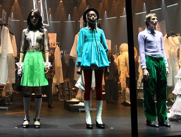 Gucci o el homenaje al ritual del desfile en un espectacular show en Milán