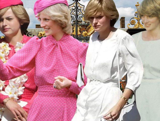 Todos los 'looks' de Lady Di que veremos en la nueva temporada de 'The Crown'