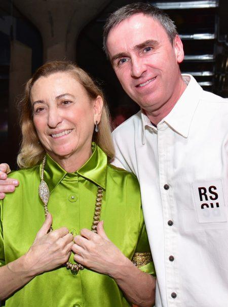 Revolución en la industria de la moda: Prada ficha a Raf Simons como codirector creativo