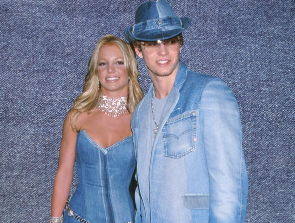Look Britney Spears Justin Timberlake