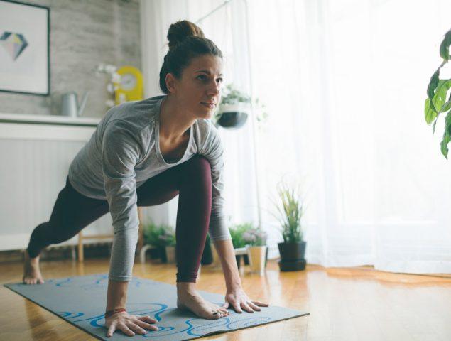 ¿Cuál es la mejor hora del día para hacer ejercicio en casa?