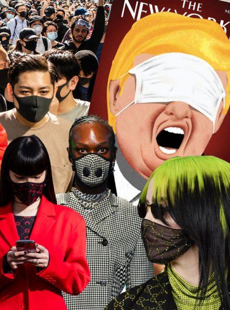 El negocio del pánico: los ricos se ponen mascarillas de lujo (aunque no funcionen)