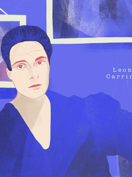El dramático encierro español de la pintora surrealista Leonora Carrington