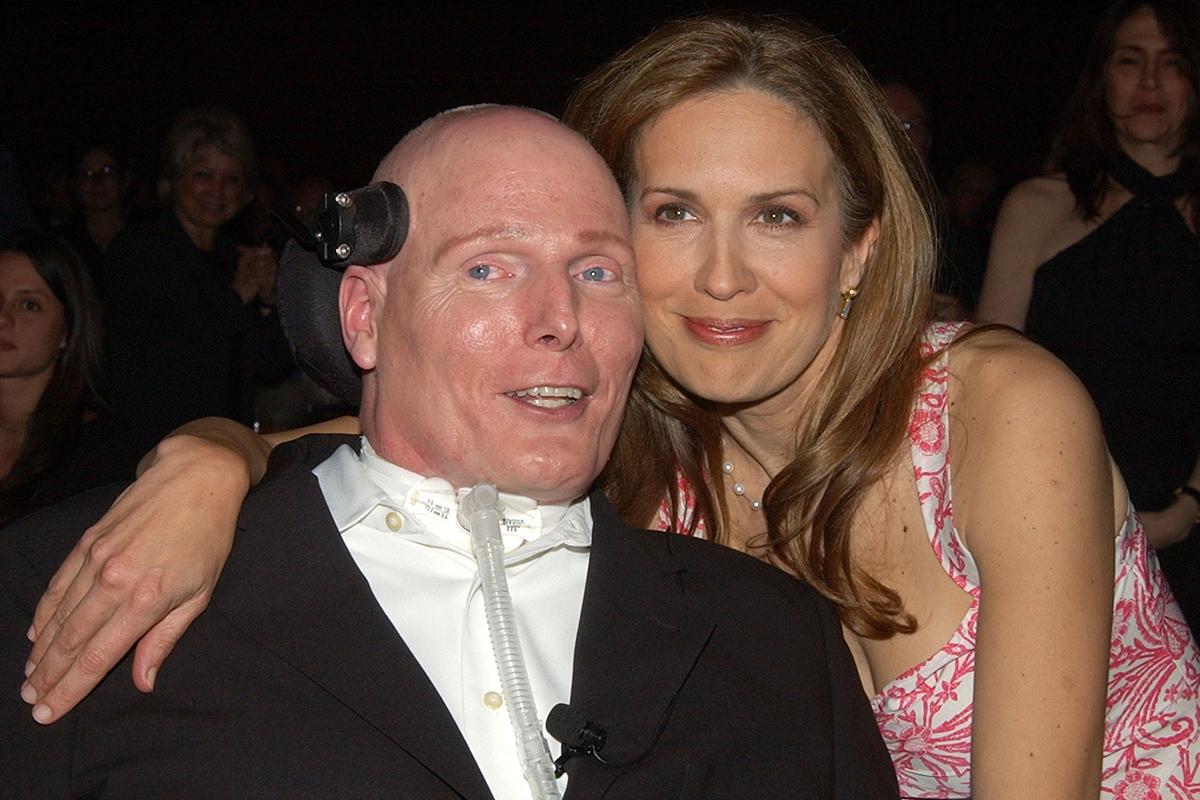 Dana y Christopher Reeve