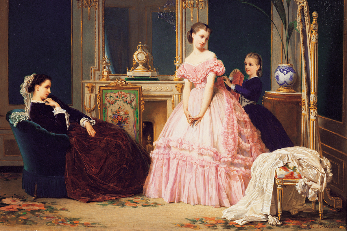 La moda en 1850