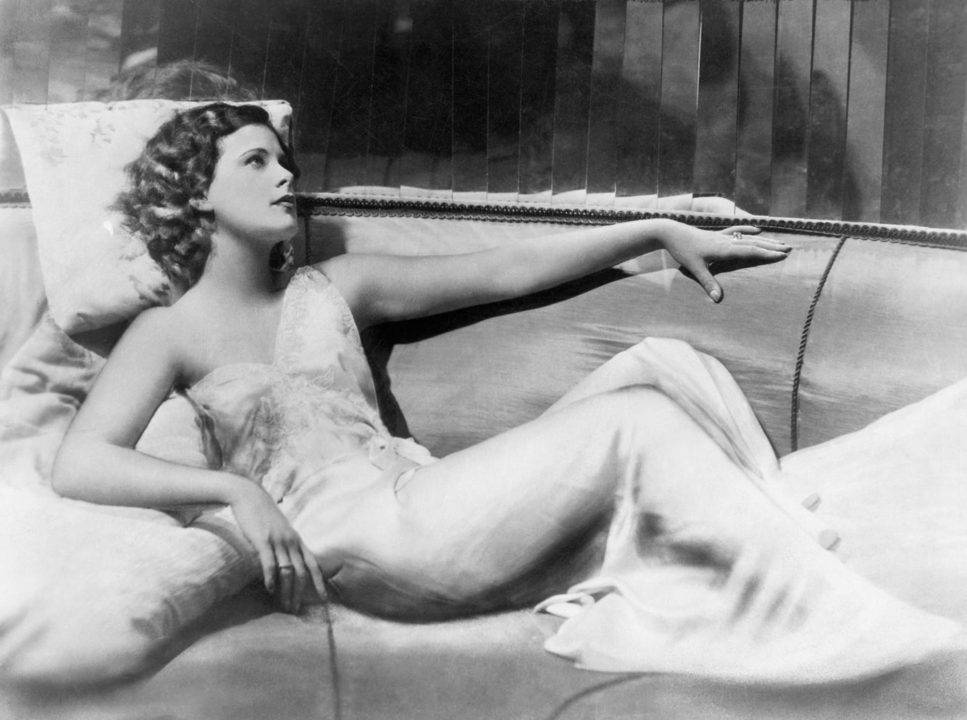 Hedy Lamarr en un fotograma de 'Éxtasis'.