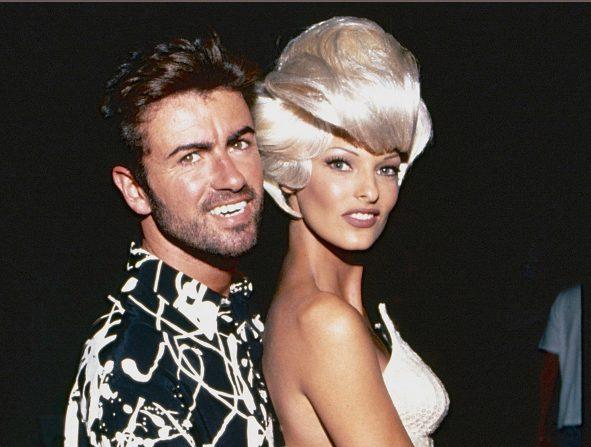 George Michael y Linda Evangelista