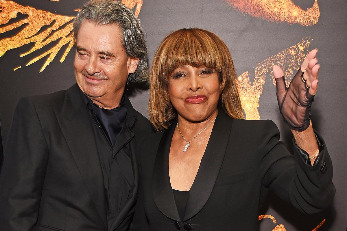 Erwin Bach y Tina Turner