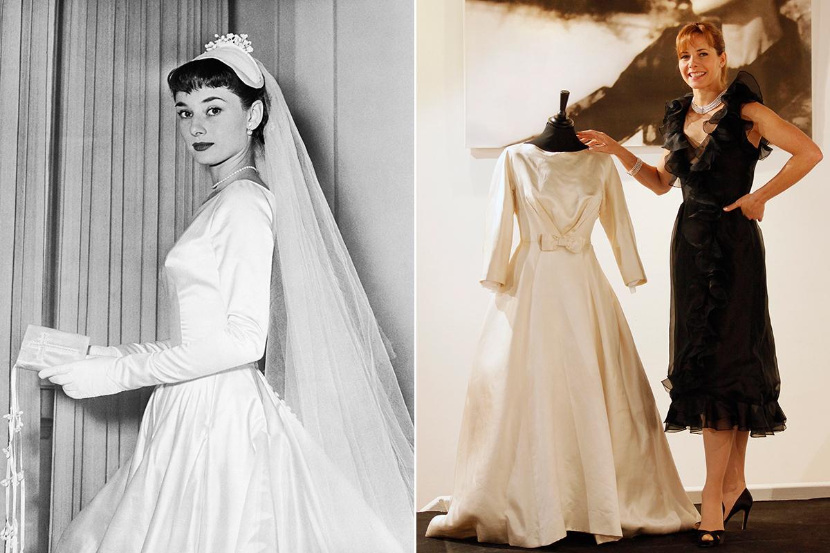 Audrey Hepburn sorelle Fontana