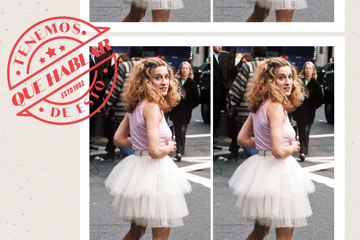 El tutú de 'Sexo en Nueva York' simboliza todas las contradicciones de Carrie Bradshaw