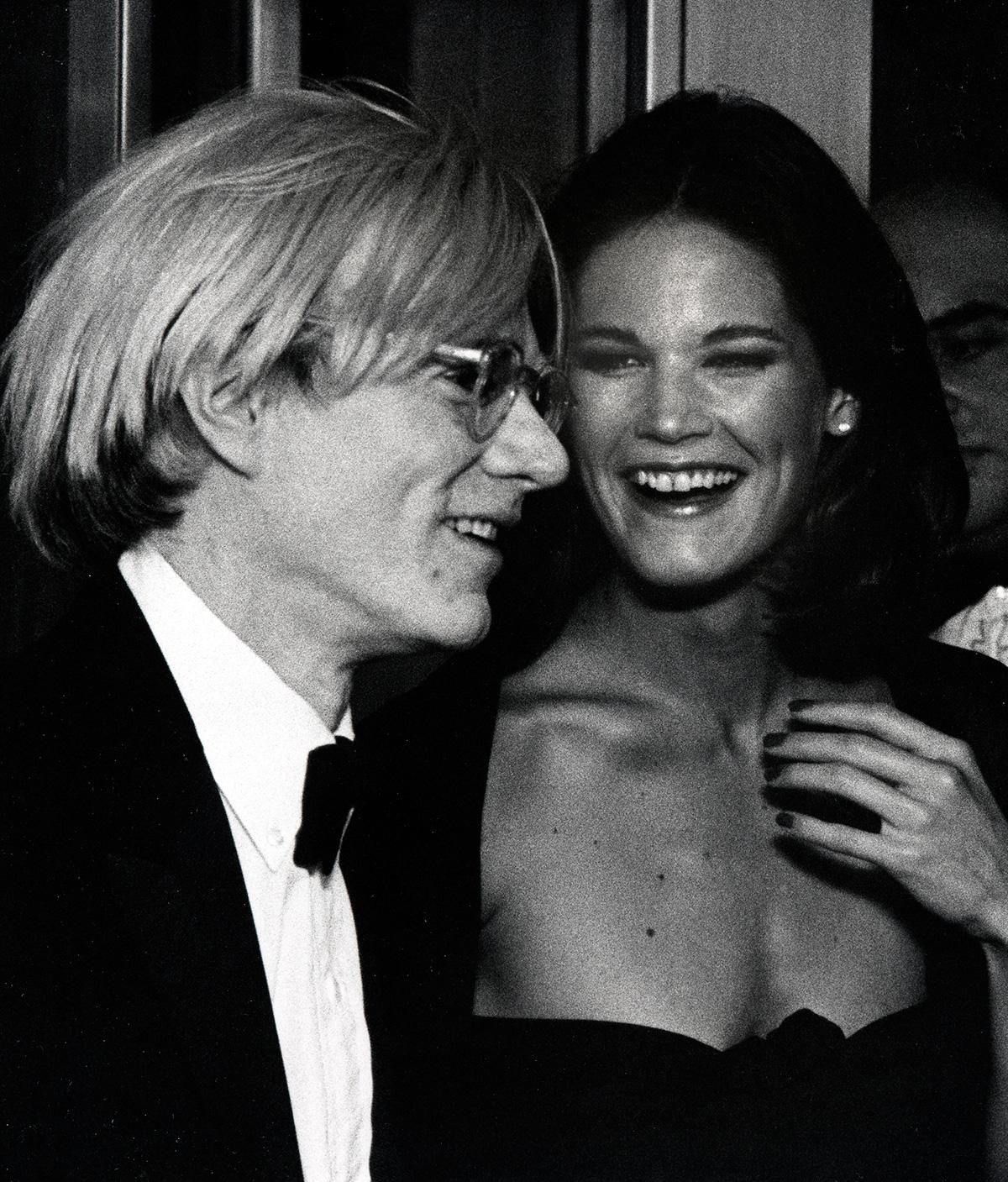 Andy Warhol y Barbara Allen de Kwiatkowski