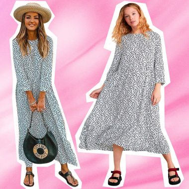 Vestido lunares Zara