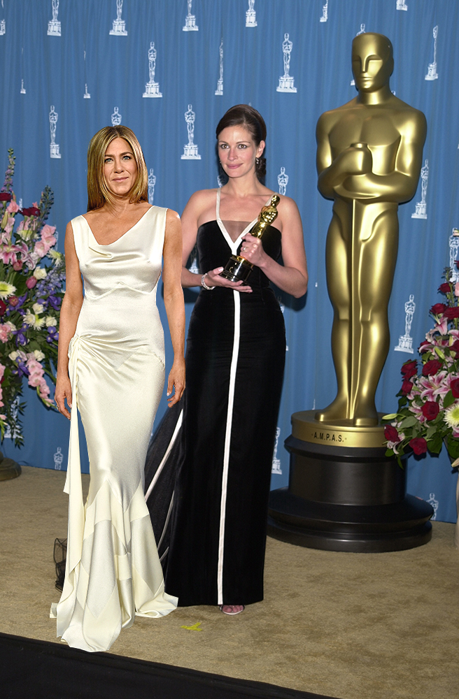 Jennifer Aniston y Julia Roberts