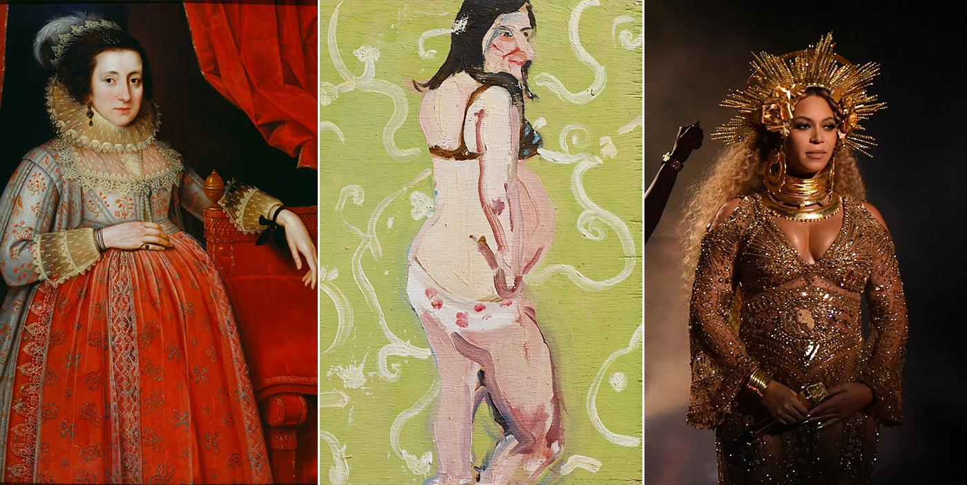 embarazada arte