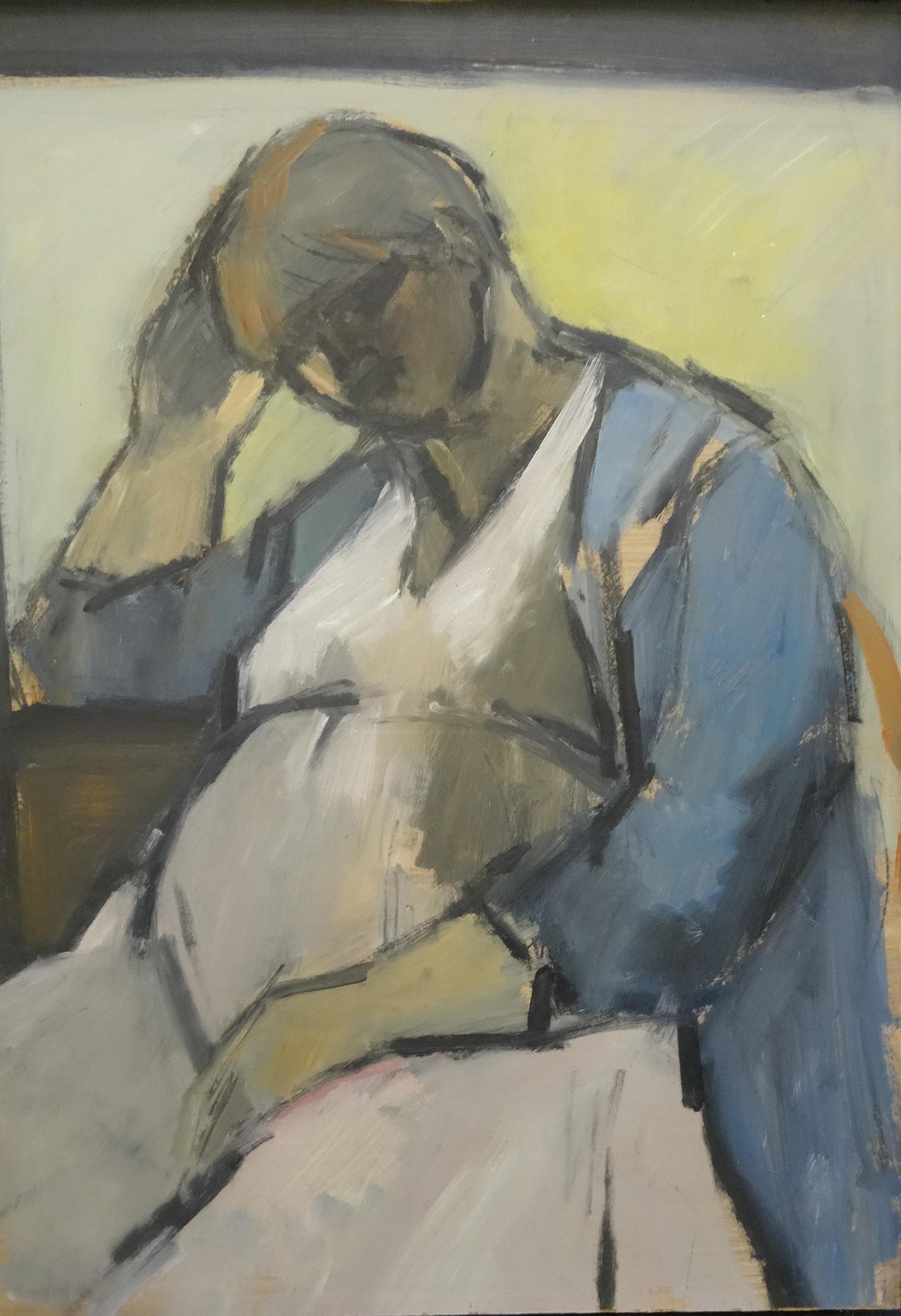 embarazadas arte