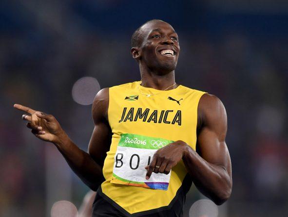 Bolt presenta a su hija: Olympia Lightning Bolt