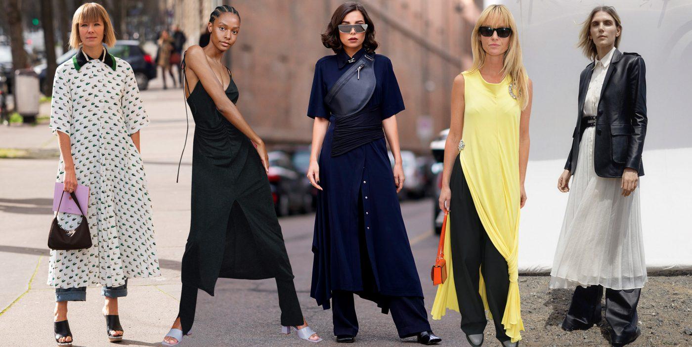 Vestido Con Pantalon La Combinacion Mas Temida De La Moda Regresa Con Fuerza Moda S Moda El Pais