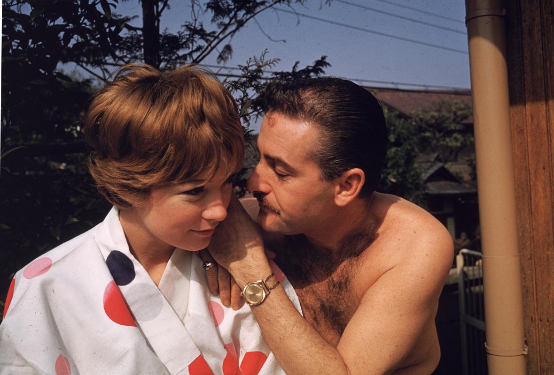 Shirley MacLaine y Steve Parker
