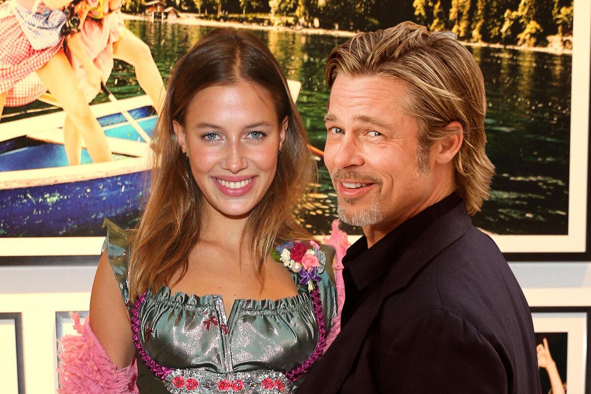 Brad Pitt y Nicole Porturalski