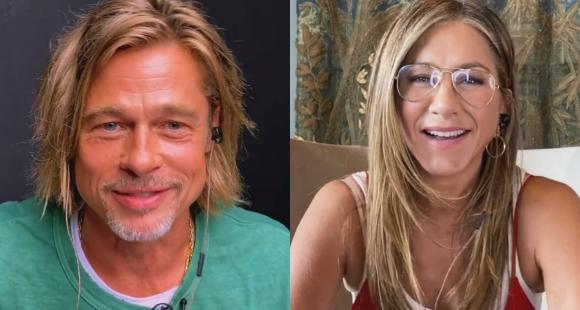 La videollamada de Jennifer Aniston y Brad Pitt que ha revolucionado de nuevo a sus fans