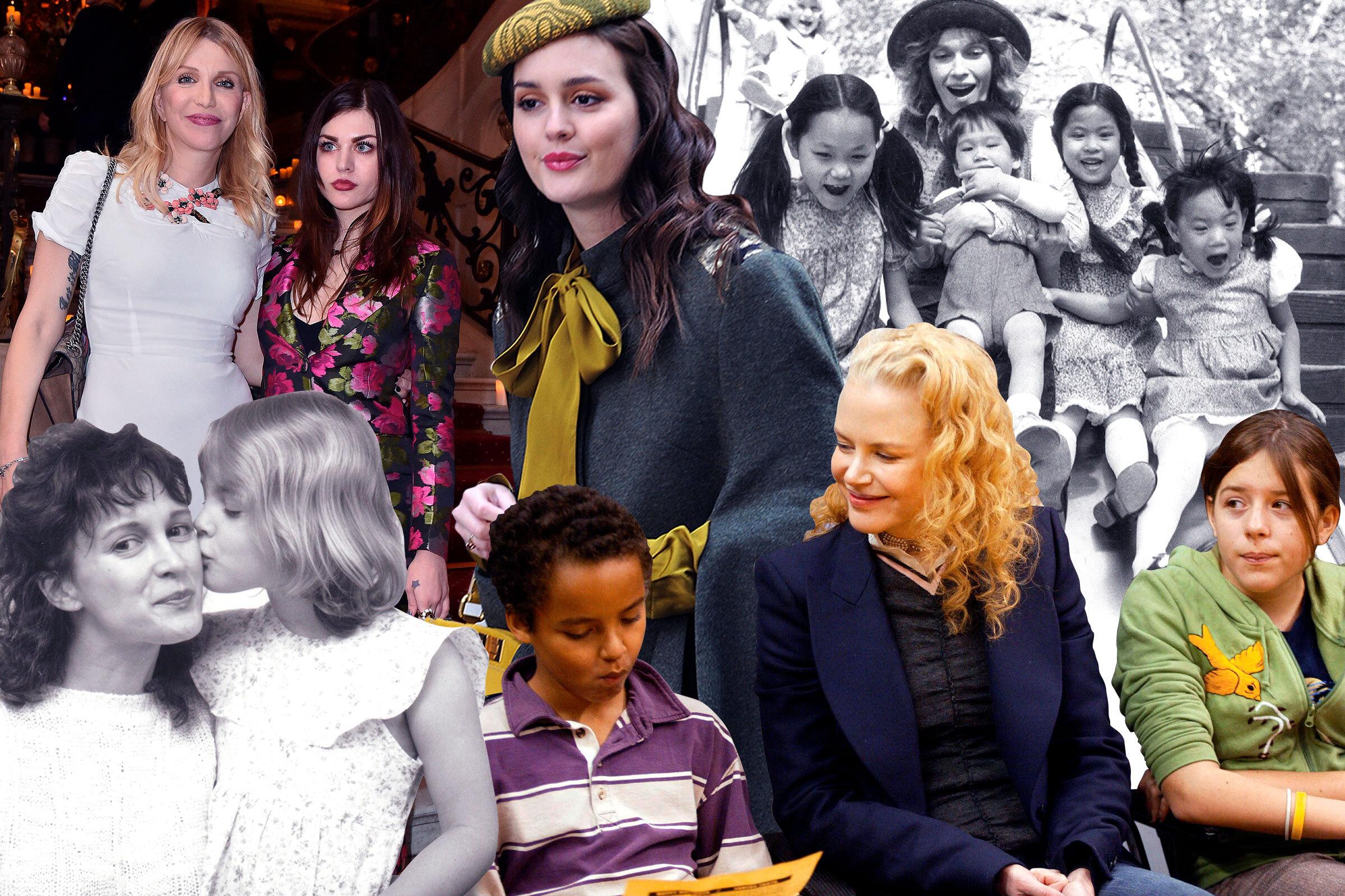 «Se solía emborrachar y me decía ¿por qué no mueves ese culo gordo?»: los problemas que enfrentan a madres e hijos en Hollywood