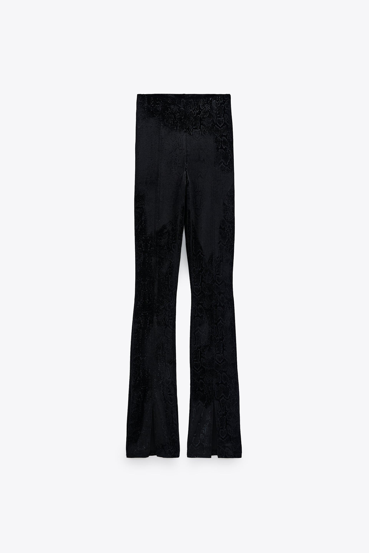 Leggings terciopelo Zara