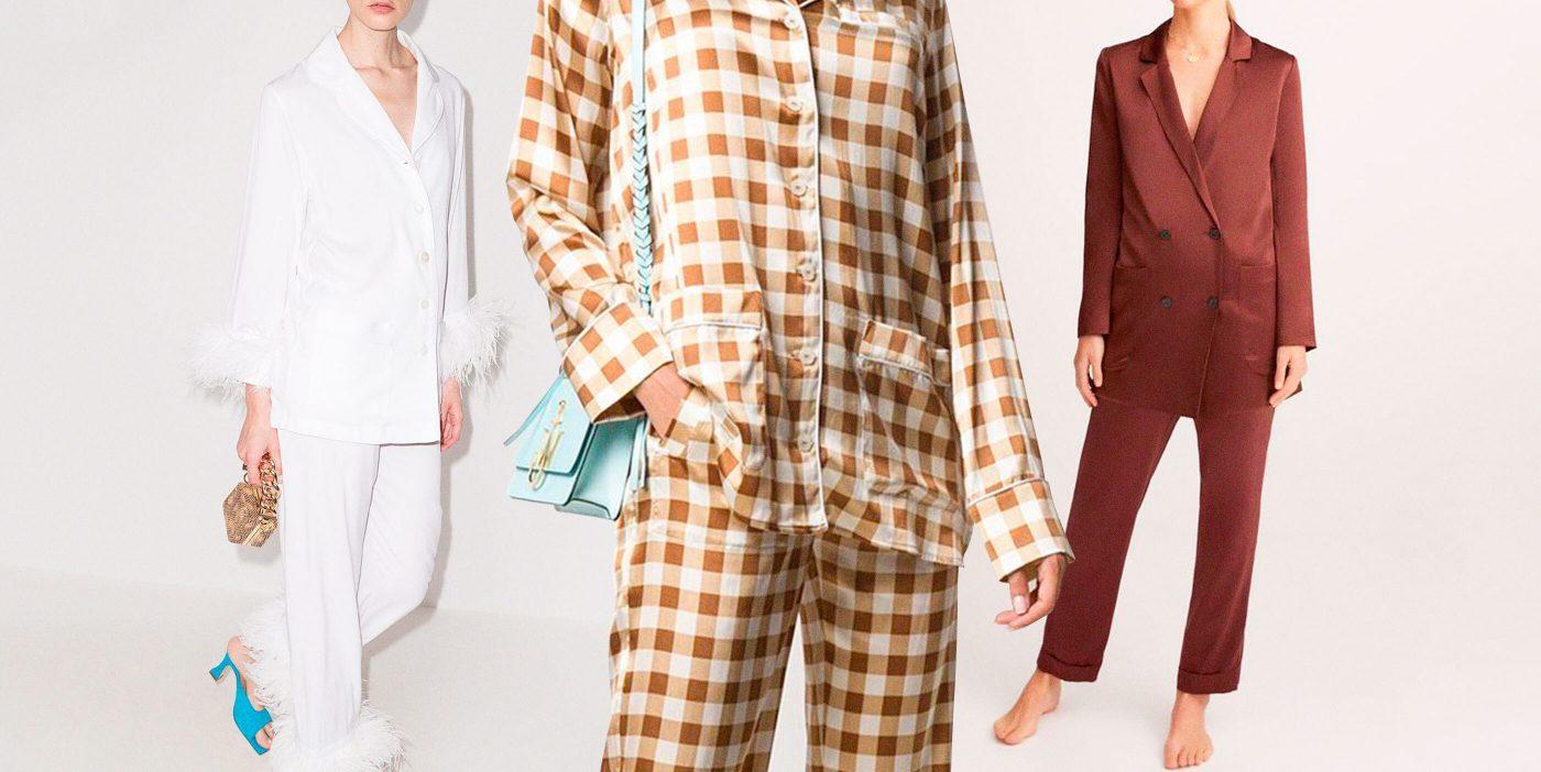 Pijamas (de gala) para unos días de fiesta diferentes