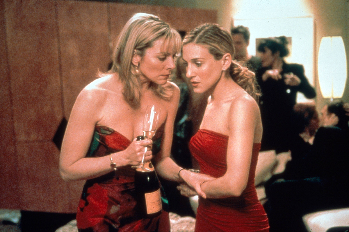 Samantha Jones y Carrie Bradshaw