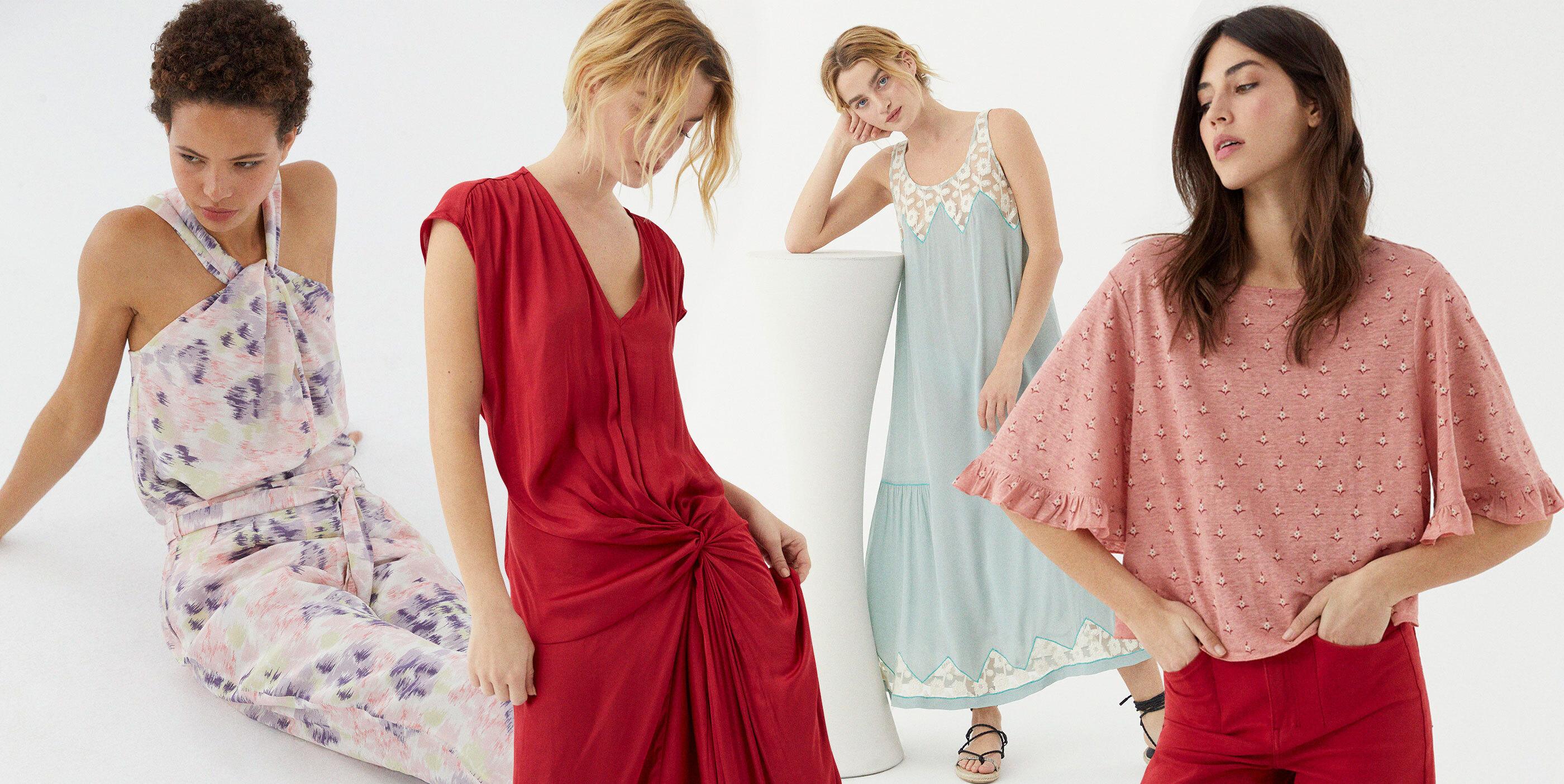 Misma diseñadora y estilo bohemio: el nuevo Hoss Intropia replica la fórmula que la convirtió en la marca de las invitadas discretas