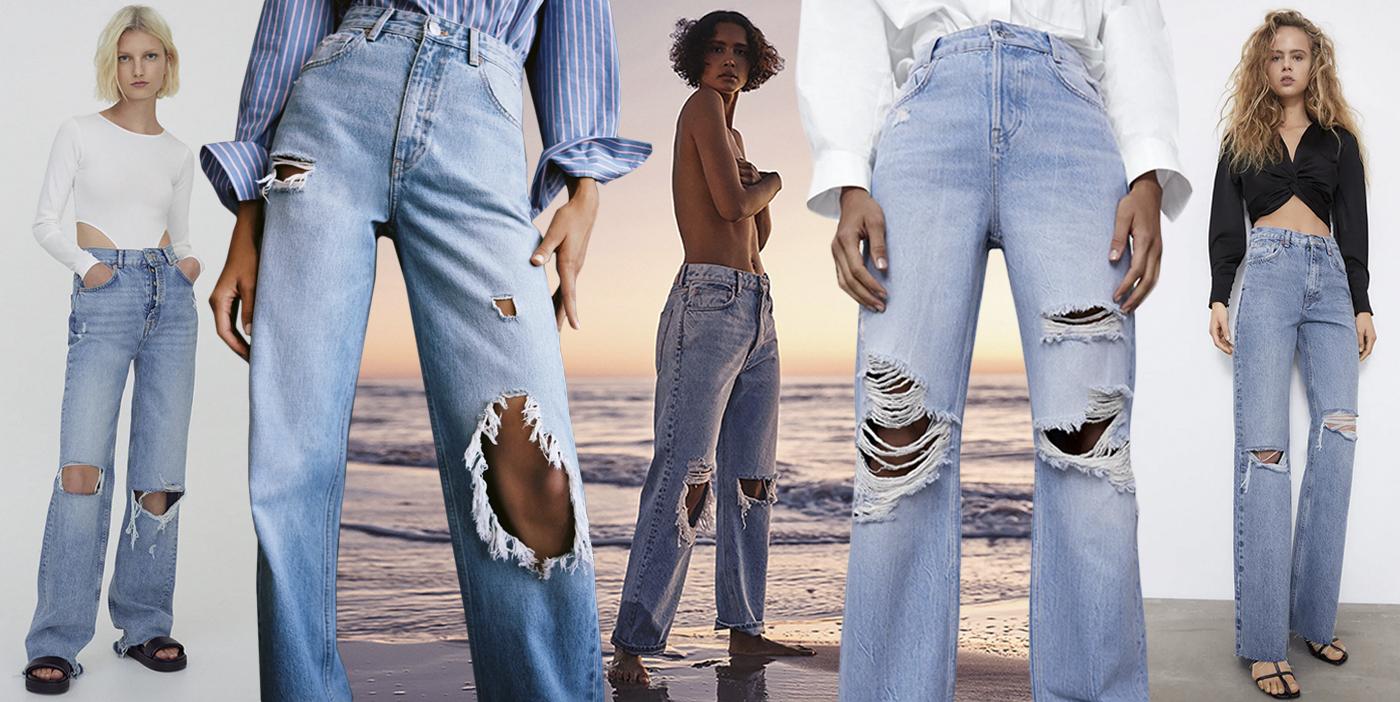 Boquetes En La Rodilla Y Agujeros Por Todas Partes El Regreso De Los Vaqueros Rotos Actualidad Moda S Moda El Pais