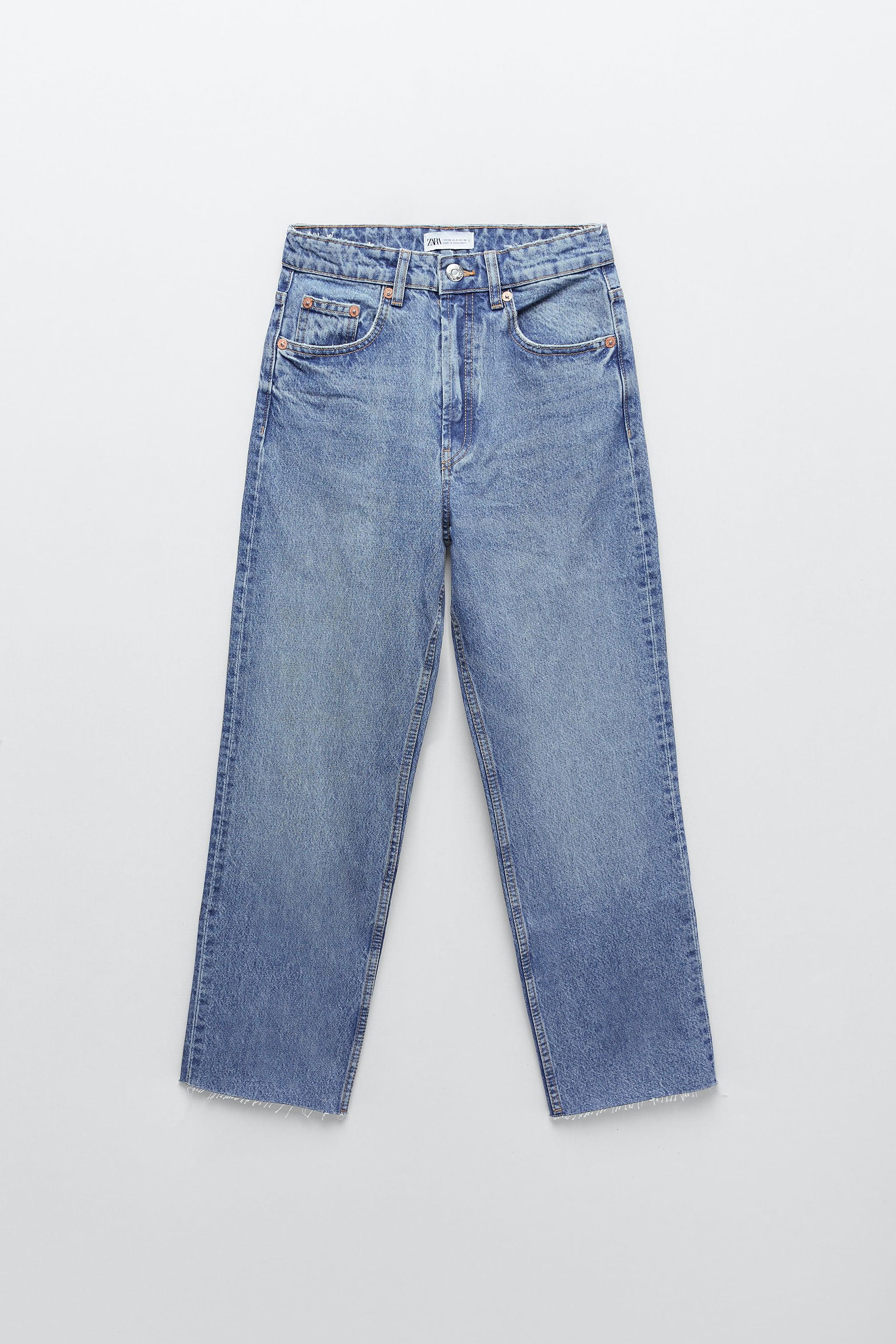 Zara pantalones cintura alta