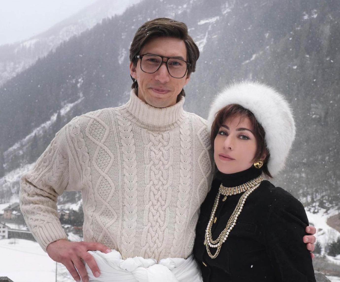 House of Gucci': por qué las fotos del rodaje de Lady Gaga y Adam Driver  están rompiendo internet | Celebrities, Vips | S Moda EL PAÍS