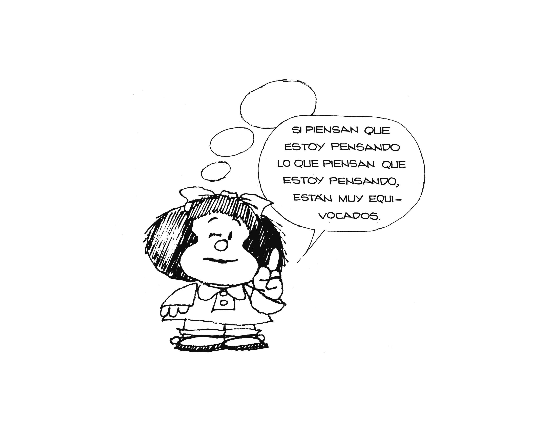 """""""Si piensan que pienso lo que piensan que pienso se equivocan"""": por qué Mafalda fue una gran filósofa"""