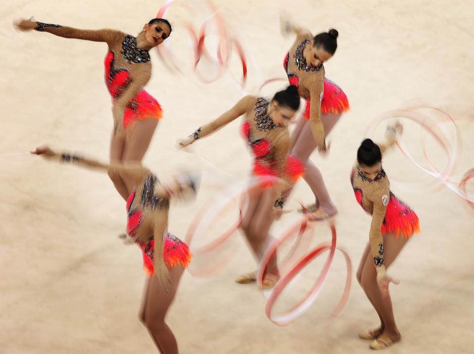 Maillots gimnasia rítmica