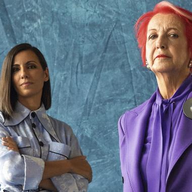 Ana Pastor y Rosa María Calaf, periodismo con la cabeza bien alta